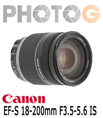 Canon EF-S 18-200 mm F3.5-5.6 IS 望遠變焦鏡 非拆賣 18200 原廠盒裝貨 (18-200mm;公司貨)