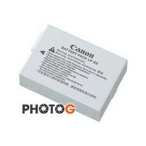 Canon LP-E8 原廠鋰電池 LPE8  適用 Canon EOS 550D 600D 650D Kiss X4  T2i