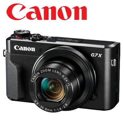 【送16G+清潔組】 CANON canon PowerShot G7X Mark II g7x II 類單眼 專業隨身機 公司貨 wifi【相機大賞】