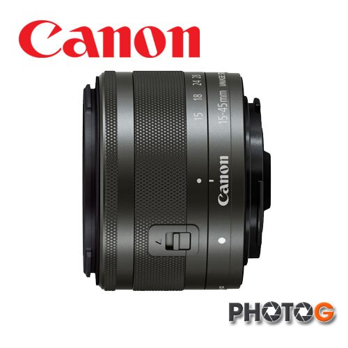 CANON canon EF~M 15~45 mm f  3.5~6.3 IS STM 1