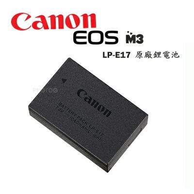 Canon LP-E17 原廠鋰電池 LPE17 for EOS M3 750D 760D  彩虹公司貨 保證真品