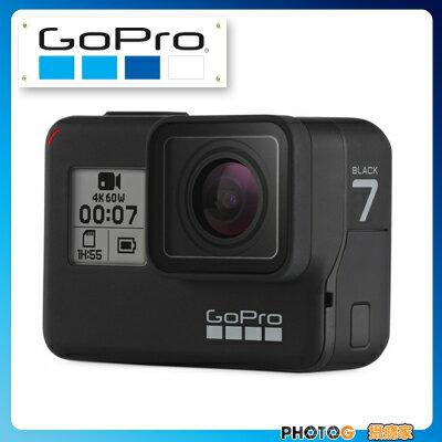 GoPro HERO7  Black hero7   運動攝影機 夜拍 4K 60格 錄影 防震 觸控變焦  【台閔公司貨】 - 限時優惠好康折扣