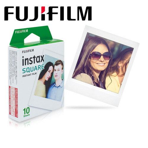 【預購】富士FujifilminstaxSQUARE即可拍空白底片(十片裝)SQ6SQ10