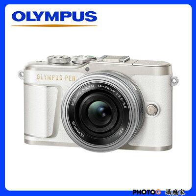 【送32GB卡+清保組 】epl9 OLYMPUS PEN E-PL9 + 1442EZ 電動鏡頭  e-pl9 , epl8 後繼機 4k  元佑公司貨 - 限時優惠好康折扣