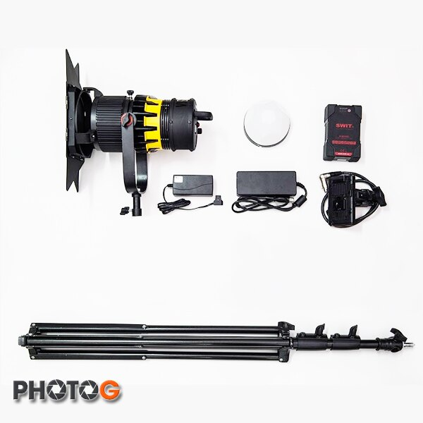 VISIO 光揚 B-100 WP 攝影燈 全配組 B100 LED 持續燈 聚光燈 變焦 防水 2萬 LUX 公司貨  MIT 台灣製
