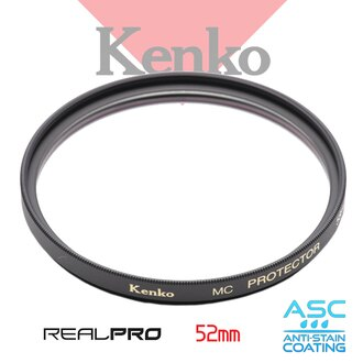 Kenko Real PRO 52 52mm MC PROTECTOR 數位專用 防潑水多層鍍膜保護鏡 (SLIM) 正成公司貨