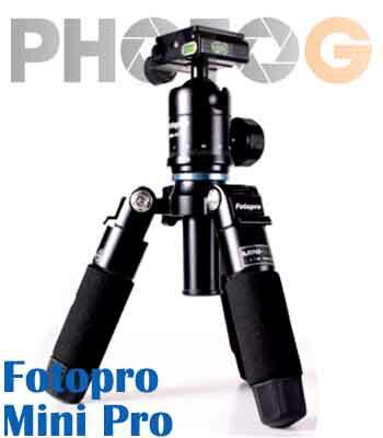 FOTOPRO 富圖寶 MINI Pro 專業型迷你三腳架 球型雲台 載重6kg 附腳架袋 ( minipro 湧蓮公司貨)