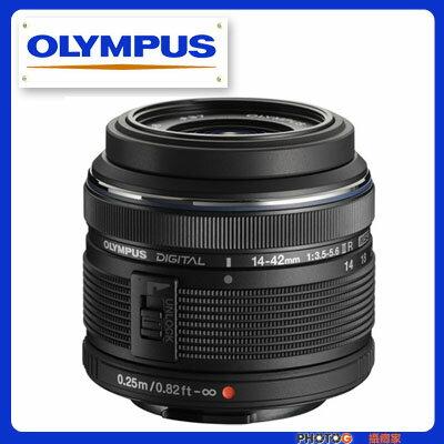 OLYMPUS M. ZUIKO ED 14-42mm II F3.5~5.6 標準變焦鏡頭 二代R鏡 (元佑公司貨;O 37mm )