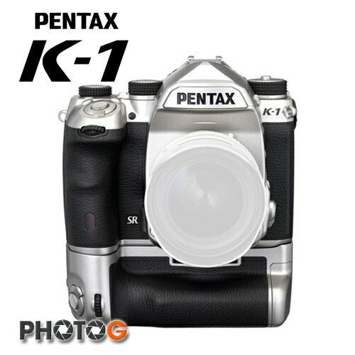 photoG:PENTAXK-1K1silver單機身銀色限定版全球限量附電池把手電池x2全幅機(k1銀炫,公司貨)