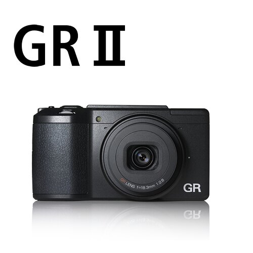 Ricoh ( PENTAX ) GR II GR2 數位相機 APS-C 感光元件 高畫質 大光圈 定焦(富?公司貨)