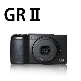 【12期0利率】【送32G+5件式清潔組+副電+座充】Ricoh ( PENTAX ) GR II GR2 grii  標準版 大光圈 細緻 高畫質 文青機  (富堃公司貨)