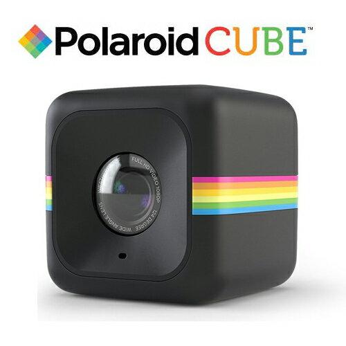 Polaroid POLC3 Cube HD 微型 行動  攝影機 Video black