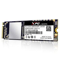 ADATA 威剛 SSD  XPG SX6000  128G 128GB PCIe Gen3x4 M.2 2280  固態硬碟  ( 讀 / 寫 高達 1000 / 800MB/s 速度,公司貨三年保固)