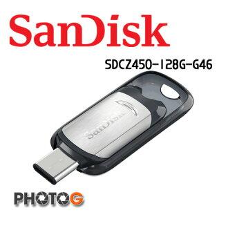 SanDisk 128g 128GB CZ450 ULTRA USB TYPE-C 手機 平板 隨身碟 SDCZ450-128G-G46 非 創見 威剛 金士頓 (公司貨)