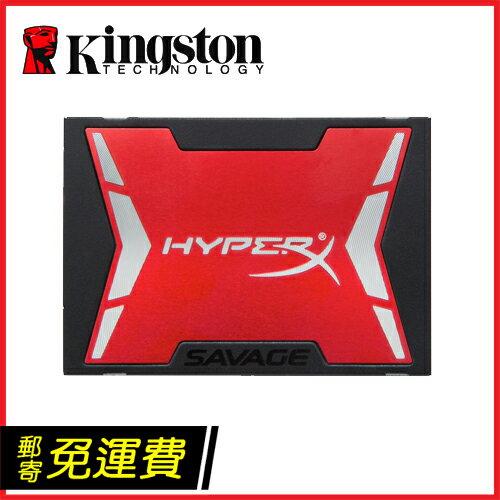 KingSton 金士頓 HyperX Savage 480G 480GB SSD 2.5吋 固態硬碟 (560MB/s讀取速度,公司貨三年保固,SHSS37A/480G)
