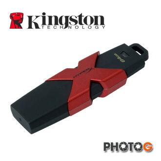 【代理商公司貨】KingSton 金士頓 64G / 64GB HXS3 USB 隨身碟 R/W 350/180M 防水防震 HXS3/64GB (郵寄免運費)