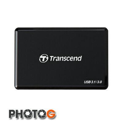 創見 Transcend f9 RDF9 USB 3.1/3.0 UHS-II 讀卡機 (USB 3.1 Gen 1介面,每秒260MB與190MB的讀寫速度) 【郵寄免運費】