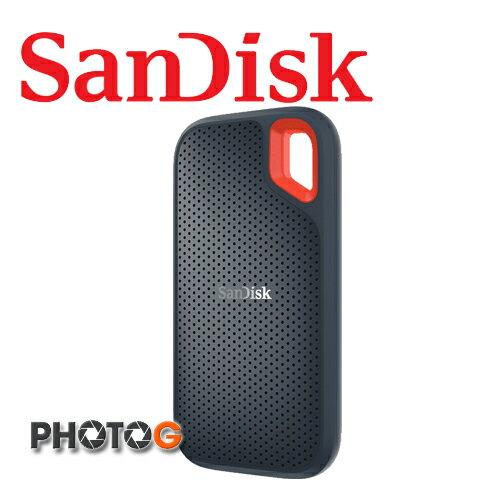 SANDISK Extreme PORTABLE SSD  1000G 1TB   固態硬碟 讀550MB / s 可攜式 SSD 外接式硬碟 (SDSSDE60-1T00) 公司貨;三年保固) - 限時優惠好康折扣