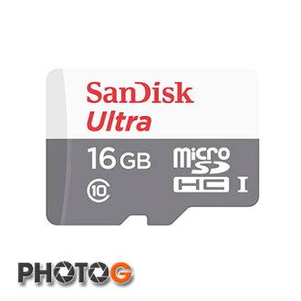 最新版~ SanDisk 533X 16G Ultra 80mb/s MicroSDHC 16G / 16GB 記憶卡 ( class10 公司貨,T-Flash / microSD 無轉卡)