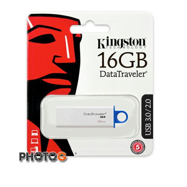 KingSton 金士頓 16G / 16GB  DataTraveler G4 隨身碟 DTIG4/16GB (免運費)