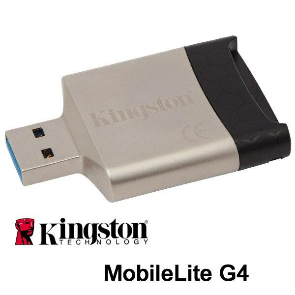 Kingston MobileLite G4 ML-G4 MLG4 FCR-MLG4 SD SDHC SDXC sdhc sdxc 讀卡機