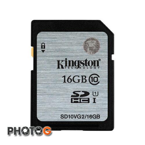 金士頓 KingSton 16GB SDHC Class 10 記憶卡 (終身保固)