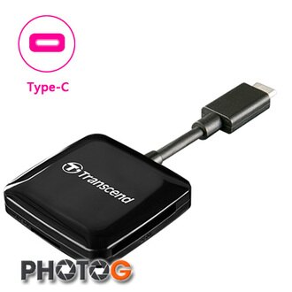 創見 Transcend Smart Reader RDC2 rdC2  OTG 讀卡機 (USB Type C 介面,SDHC SDXC microSD microSDXC TF, 卡均適用)