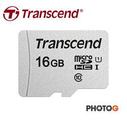 創見 Transcend microSDHC 16GB 300S UHS-I U1 記憶卡 (  Class 10,讀95MB/s 寫45MB/S 五年保固 T-Flash microsdhc )
