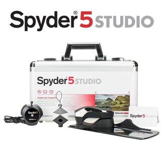 Datacolor spyder5 SpyderStudio ( 旗艦組 ) SPYDER5 螢幕校色器 立體灰卡 (永準公司貨)