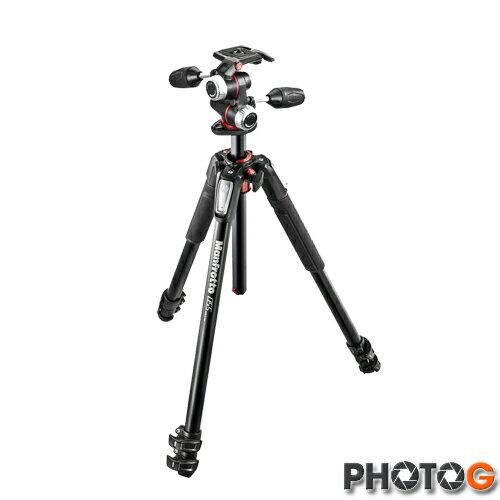 【送腳架袋】Manfrotto 055 MK055XPRO3-BH 含 496RC2雲台 鋁合金 三節腳架 套組 三腳架 攝影腳架 (正成公司貨)