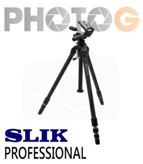 【分期零利率】SLIK Pro 頂級專業系列 THE PROFESSIONAL 腳架 公司貨 (附SH-909三向雲台;附腳架袋)