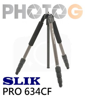 SLIK Carbon Fiber 碳纖系列 PRO 634 CF 腳架 公司貨 (無雲台;附腳架袋)