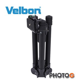 Velbon UT-43DL 鋁合金 反摺腳架 ( 含QHD-53D 雲台 , 欽輝行公司貨)