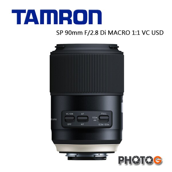 【ATM 專區】 F017 Tamron SP 90mm F / 2.8 Di MACRO 1:1 VC USD 微距鏡頭 百微 f017  俊毅公司貨; 三年保固 1