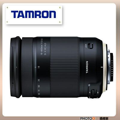 現貨 B028 Tamron 騰龍 18-400mm  18-400  F / 3.5-6.3 Di II VC HLD  22X 變焦鏡頭 旅遊鏡  ( 18400 ;  俊毅公司貨) - 限時優惠好康折扣