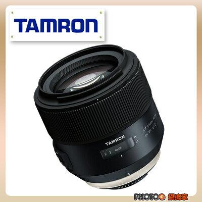 【ATM付款】 F016 Tamron SP 85mm F / 1.8 Di VC USD f016 大光圈 人像鏡 俊毅公司貨; 三年保固 0