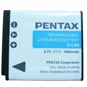 PENTAX D-LI68 原廠鋰電池(DLI68,富?公司貨,同FujiFilm NP50 / Kodak KLIC7004原廠電池 Q Q10 Q7 QS1)