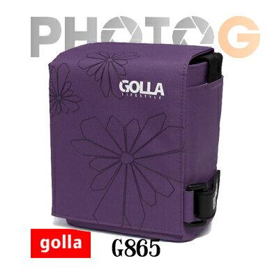 Golla G865-深遂紫  時尚專業大相機包  (S) 微單 一機一鏡