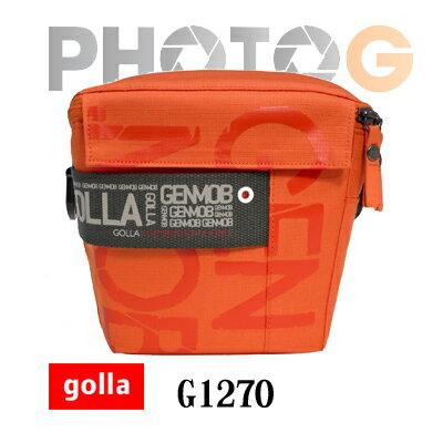 Golla G1270-亮彩橘 時尚專業大相機包_套  (S)