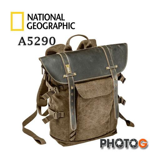 National Geographic NGA5290 國家地理頻道 Africa NGA5290 中型後背包 攝影包 NG A5290 白金版  高級植鞣 +帆布 (正成公司貨,保證原廠真品) - 限時優惠好康折扣