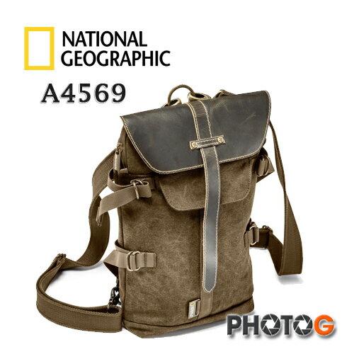National Geographic 國家地理頻道 A4569 非洲系列 AFRICA NG 4569 斜肩相機包 小型相機 包 高級植鞣 +帆布 (正成公司貨,保證原廠真品) - 限時優惠好康折扣