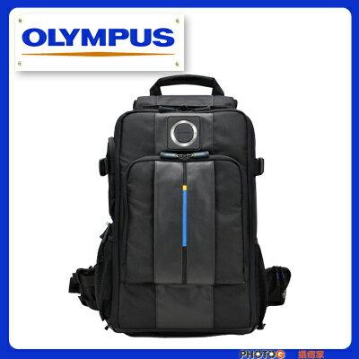 Olympus CBG-12 相機背包 攝影包 後背包 可容二機 5鏡 1閃燈  附防雨罩  (元佑公司貨) - 限時優惠好康折扣