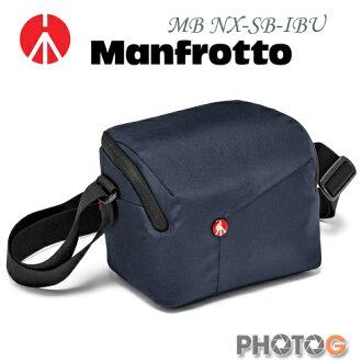 Manfrotto MB NX-SB-IBU 深藍色 Shoulder Bag SCS 開拓者微單眼肩背包 (正成公司貨)