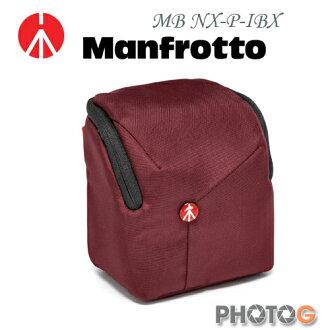 Manfrotto MB NX-P-IBX Pouch 開拓者小型相機包 酒紅色 (正成公司貨)