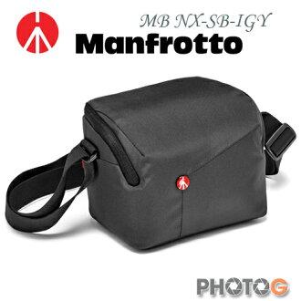Manfrotto MB NX-SB-IGY 深灰色 Shoulder Bag SCS  開拓者微單眼肩背包 (正成公司貨)