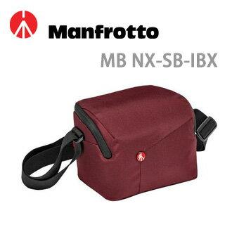 Manfrotto MB NX-SB-IBX 酒紅色 Shoulder Bag SCS 開拓者微單眼肩背包 (正成公司貨)