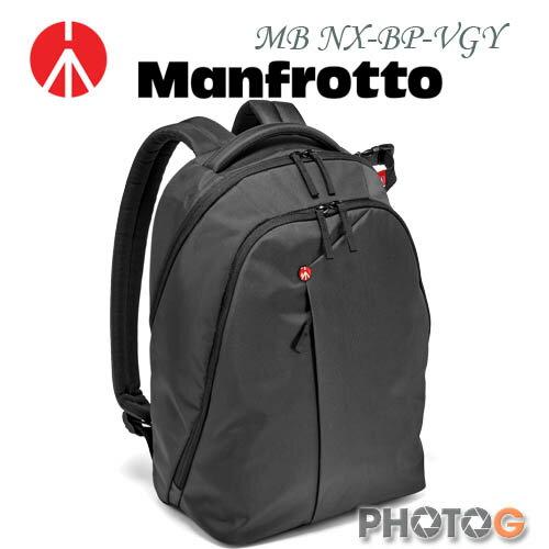 Manfrotto MB NX-BP-VGY 深灰色 Backpack 開拓者雙肩後背包 (正成公司貨)