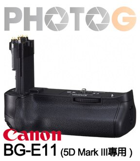 CANON canon BG-E11原廠電池握把 電池手把 (EOS 5D Mark III專用電池手柄 ;BGE11;彩虹公司貨)