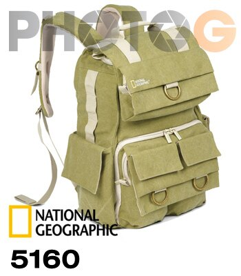 National Geographic 國家地理頻道 探險家系列 NG 5160 後背相機包 相機包 攝影包 ( 正成公司貨;保證真品)