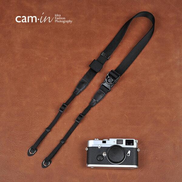 Cam~in Camin 忍者相機背帶 8830 黑色 速調 25mm 單車逸品 GF2
